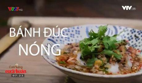 Am thuc cuoi tuan: Cach lam banh duc nong thom ngon - Anh 1