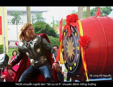 Nghe tay trai khi biet doi Avengers giai nghe - Anh 1