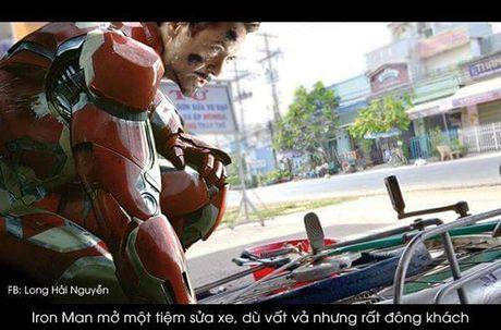 Nghe tay trai khi biet doi Avengers giai nghe - Anh 3