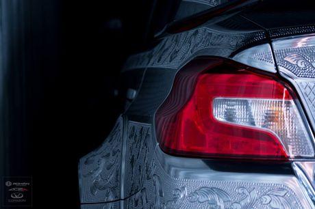 Ngam Subaru WRX STI duoc khac hoa tiet noi 'cuc doc' - Anh 6