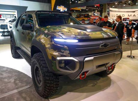 Chevrolet Colorado ZH2 danh rieng cho quan doi My - Anh 1