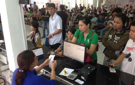 17.500 ve tau Tet Dinh Dau 2017 duoc mo ban - Anh 1