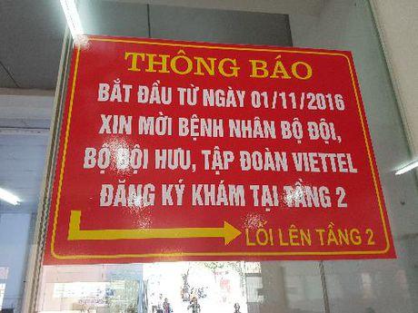 """Choang ngop"" khu dieu tri ""Vip"" Viettel tai Benh vien 108 - Anh 4"
