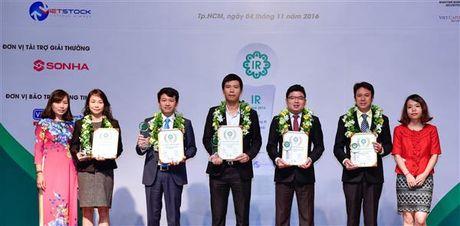 Hoa Sen dat top 5 doanh nghiep niem yet co hoat dong IR tot nhat 2016 - Anh 1