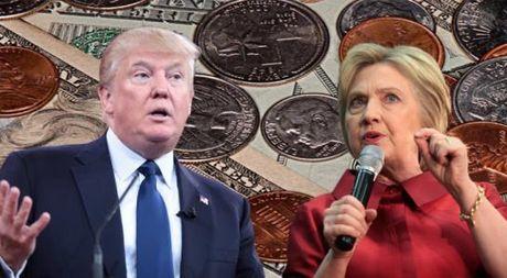Yeu to kinh te dang tao loi the cho ba Clinton truoc ong Trump - Anh 1