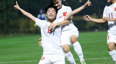 Thang Iran 2-0, tuyen U.19 nu Viet Nam gianh ve du VCK chau A - Anh 1