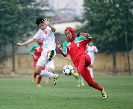 Thang Iran 2-0, tuyen U.19 nu Viet Nam gianh ve du VCK chau A - Anh 3