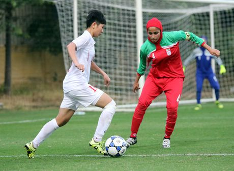 Thang Iran 2-0, tuyen U.19 nu Viet Nam gianh ve du VCK chau A - Anh 4