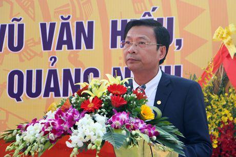 Quang Ninh: Khanh thanh tuong dai cu Vu Van Hieu - Anh 3