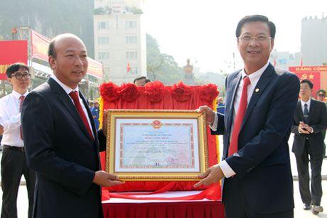 Quang Ninh: Khanh thanh tuong dai cu Vu Van Hieu - Anh 4