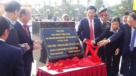 Quang Ninh: Khanh thanh tuong dai cu Vu Van Hieu - Anh 5