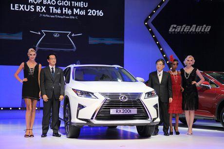 Diem nong tuan 1/11: Trieu hoi xe sang Lexus RX tai Viet Nam - Anh 1