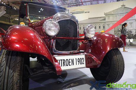 Ngam Citroen 1902, chiec xe co nhat Viet Nam - Anh 4