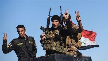 Quan doi Iraq gianh thang loi, tiep tuc tien sau vao trung tam Mosul - Anh 1