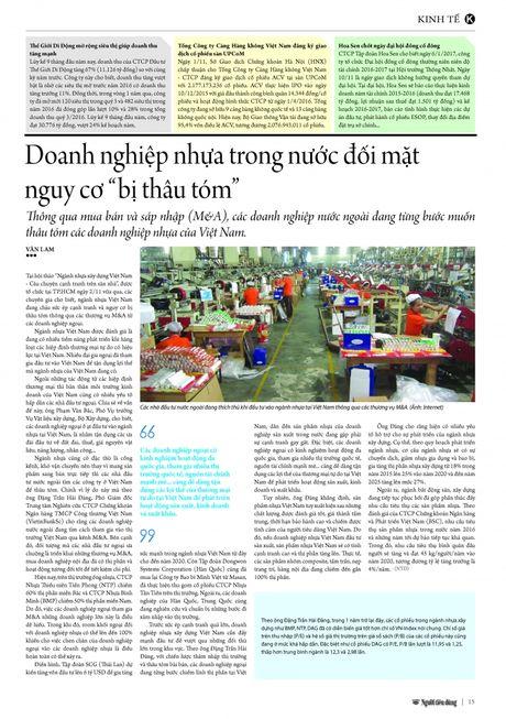 "Doanh nghiep nhua trong nuoc doi mat nguy co ""bi thau tom"" - Anh 2"