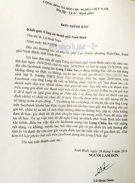 Ninh Binh: Bi boi nho tren facebook, nu sinh khung hoang phai chuyen vao Nam - Anh 1