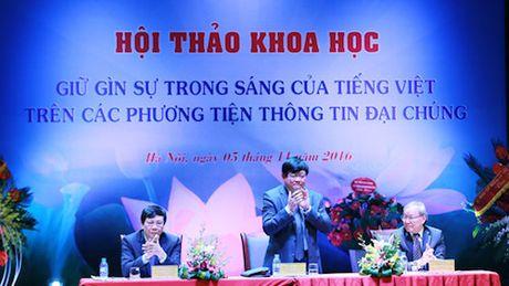 Pho Thu tuong: Co nhung bieu hien thieu chuan muc trong su dung tieng Viet - Anh 2