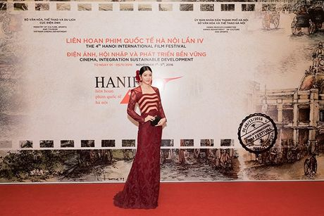 Ly Nha Ky dep long lay tai le be mac Lien hoan phim Quoc te Ha Noi 2016 - Anh 1