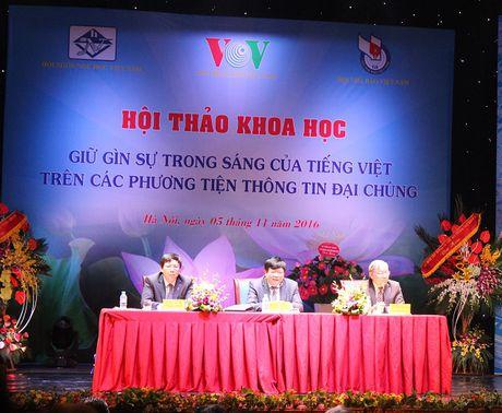 Can xu phat nghiem hanh vi lam sai trai, lech lac su trong sang cua Tieng Viet - Anh 2