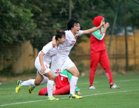Choi voi 200% suc luc, U19 nu Viet Nam gianh ve du VCK chau A 2017 - Anh 1