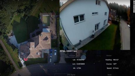Drone nay se bao ve ngoi nha cua ban - Anh 2