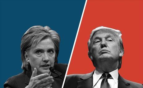 Van dau cuoi cung cua Donald Trump va Hillary Clinton - Anh 1