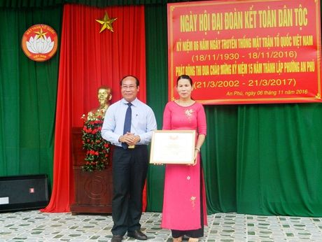 Chu tich Mat tran tinh Quang Nam du Ngay hoi dai doan ket toan dan toc - Anh 7