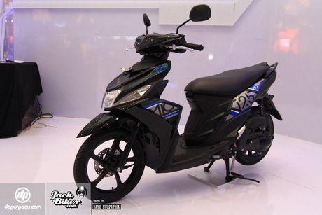 Yamaha Mio M3 moi voi he thong khoa da chuc nang - Anh 1