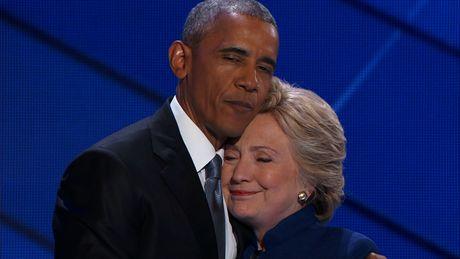 Obama ung ho Clinton, chuyen hiem tram nam - Anh 1