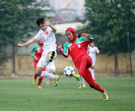 Thang Iran 2-0, U19 nu Viet Nam gianh ve du VCK chau A - Anh 1