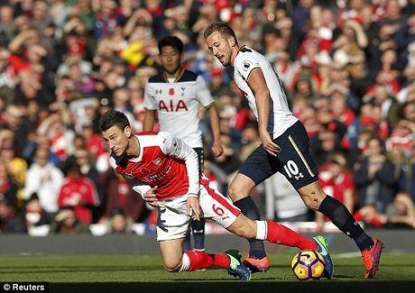 Ket qua tran Arsenal - Tottenham - Anh 1