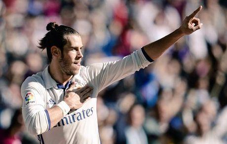 Gareth Bale lap cu dup, Real Madrid tam thoi dan Barca 5 diem - Anh 1