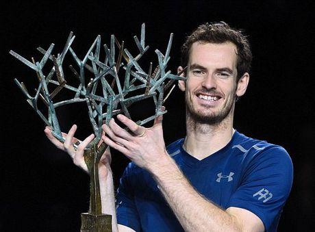 Andy Murray chao don ngoi so 1 bang chuc vo dich Paris Masters - Anh 1