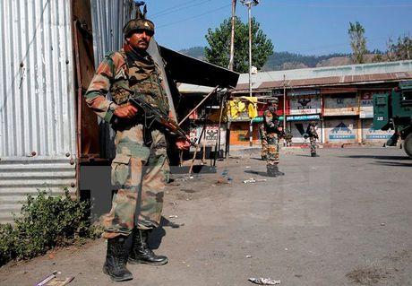 Binh sy An Do va Pakistan dau phao hang nang tai khu vuc Kashmir - Anh 1
