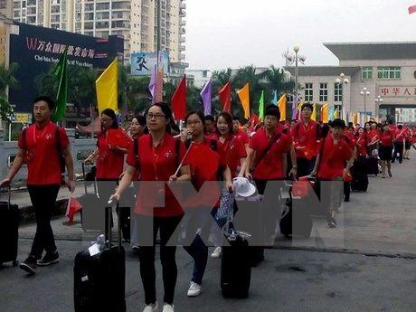 Le Khoi dong Lien hoan Thanh nien Viet Nam-Trung Quoc lan thu 3 - Anh 1