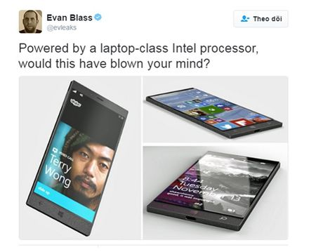 Surface Phone co vi xu ly manh nhu laptop - Anh 1