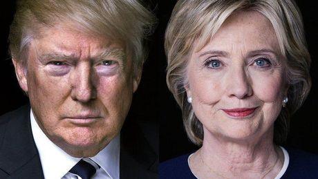 Hai ngay truoc bau cu My: Ti le ung ho ba Clinton giam - Anh 1