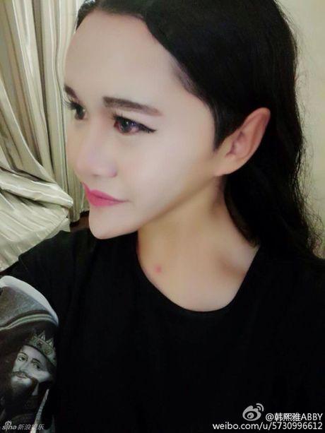 Ngat xiu vi 'xa tinh' tu nhan minh xinh nhat Trung Quoc - Anh 5