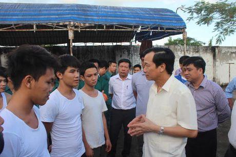 Dong Nai: Bo truong lang nghe ly do hoc vien cai nghien pha trai - Anh 1
