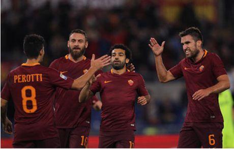 Salah lap hat-trick, Roma de bep Bologna - Anh 1