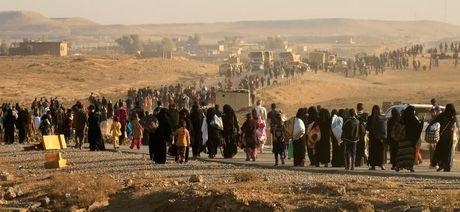 Loat anh danh phien quan IS o Mosul va Raqqa - Anh 3