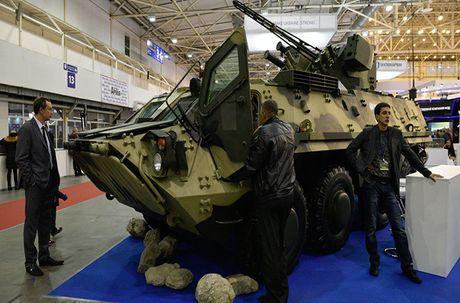 Kho do: Ukraine len mua phu tung Nga cho xe boc thep - Anh 1