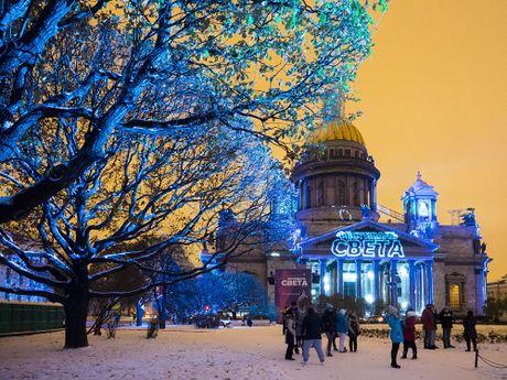 Le hoi anh sang 3D Mapping nam 2016 o Nga - Anh 9
