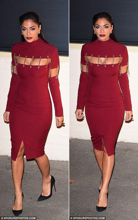 Nicole Scherzinger sexy hon sau khi nang nguc - Anh 2