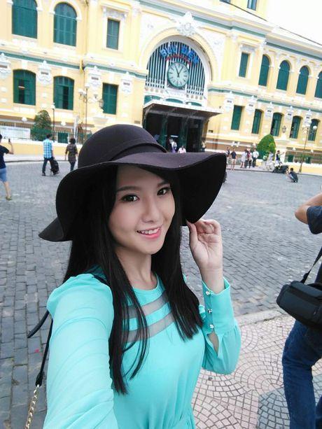 Nhan sac hot girl Can Tho duoc dan mang Trung Quoc 'san lung' - Anh 7