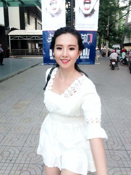 Nhan sac hot girl Can Tho duoc dan mang Trung Quoc 'san lung' - Anh 9