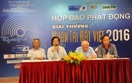 Sap cong bo san pham lot chung khao Nhan tai Dat Viet 2016 - Anh 1