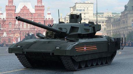 Suc manh xe tang Armata khien doi thu choang ngop, 'dau hang' - Anh 1