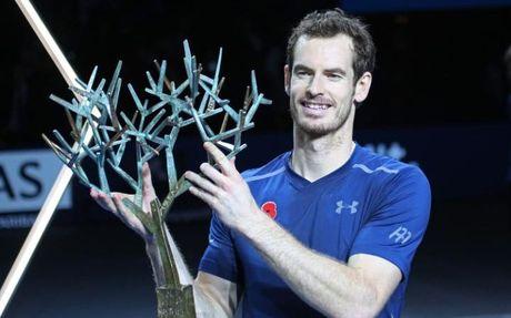Ha Isner, Murray lan dau dang quang Paris Masters - Anh 1