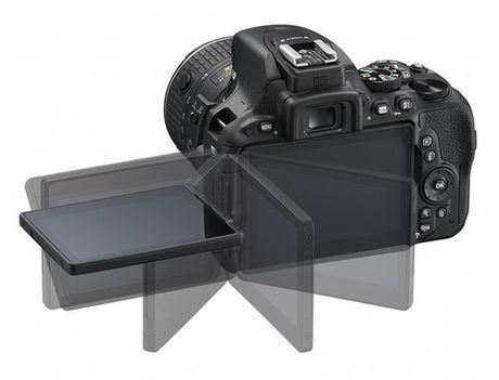 May anh Nikon D5600 DSLR sap ra mat - Anh 1